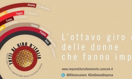tappa giro Italia imprenditoria femminile